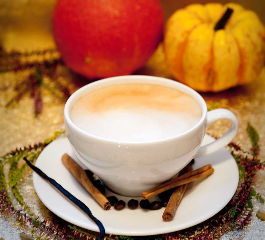 SPICY PUMPKIN LATTE